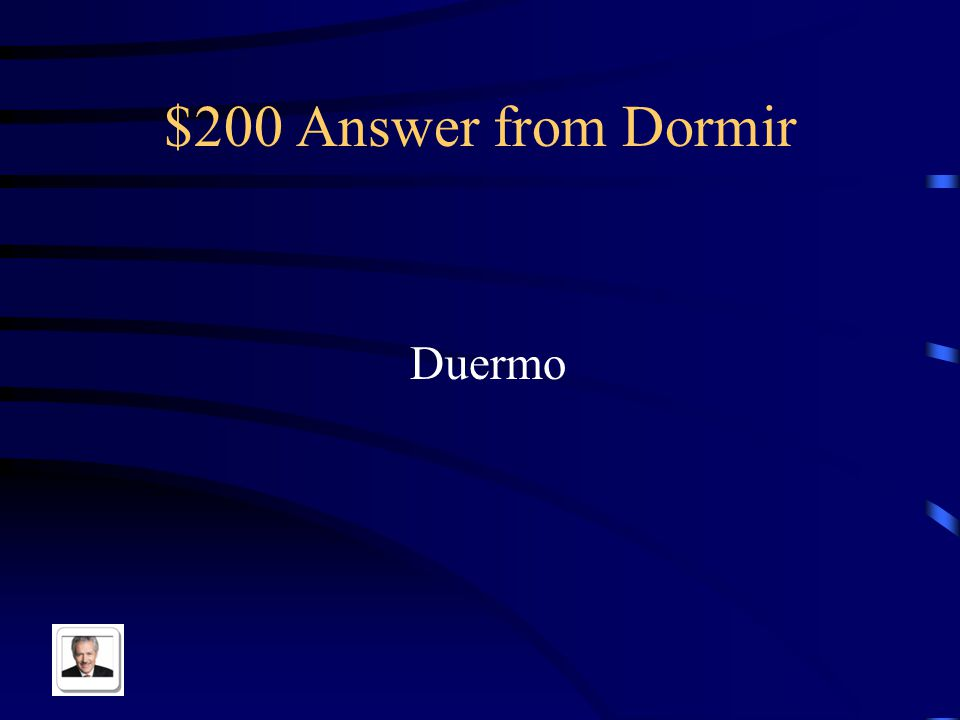 $200 Question from Dormir Yo ______ en la cama