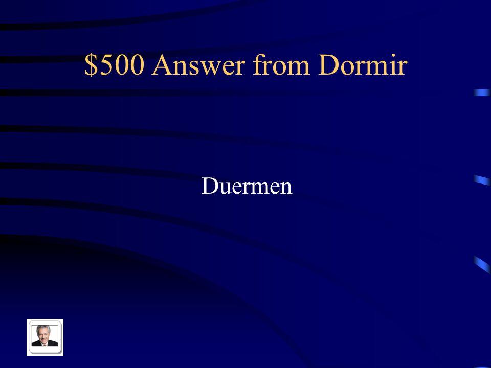 $500 Question from Dormir ¿Cuántas personas _____ en tu casa?