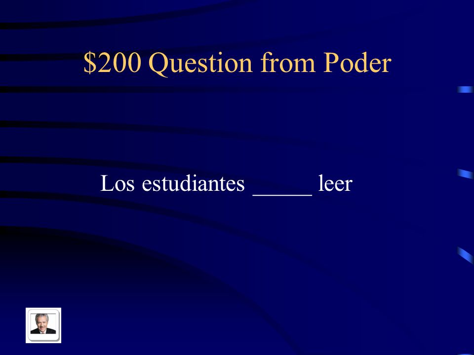 $100 Answer from Poder I can