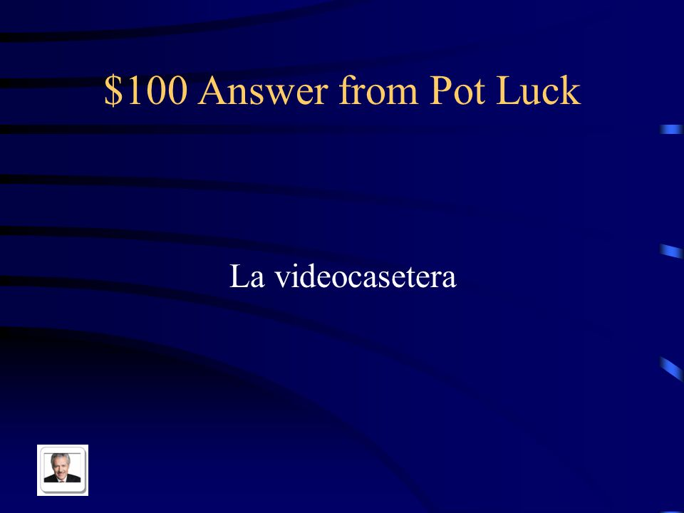 $100 Question from Pot Luck VCR