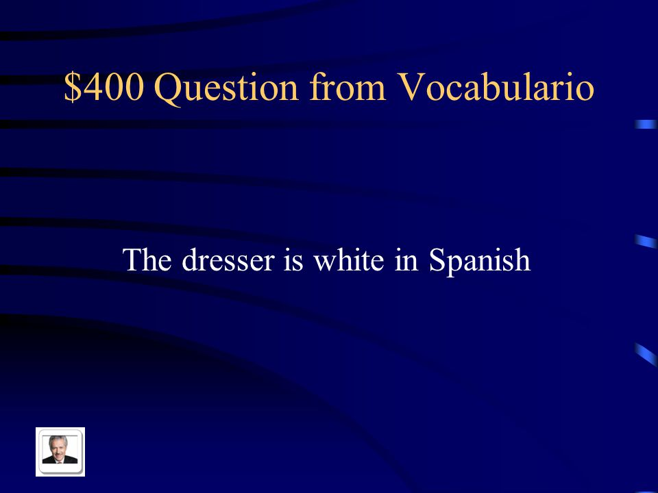 $300 Answer from Vocabulario El estante