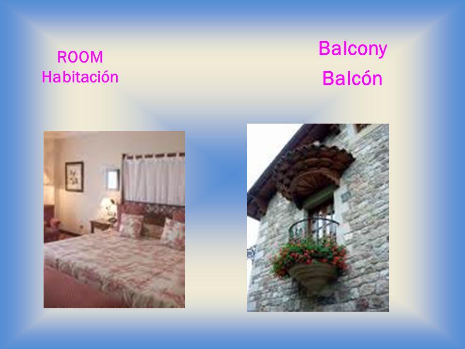Balcony Balcón ROOM Habitación