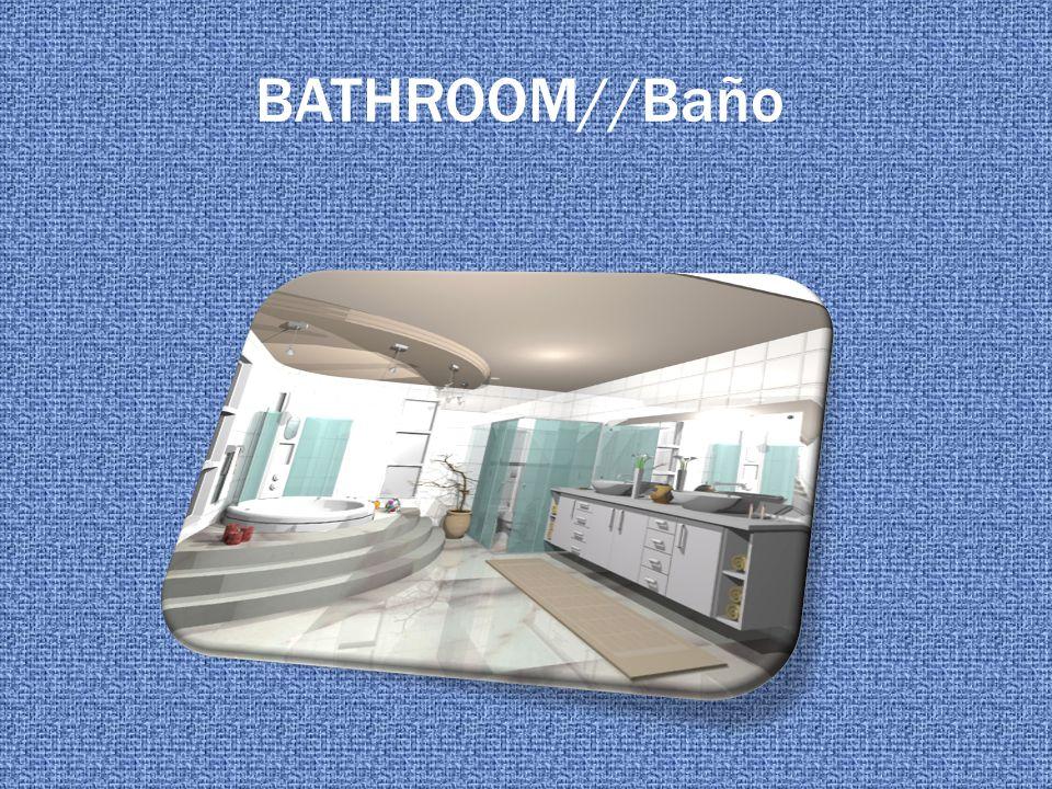 BATHROOM//Baño
