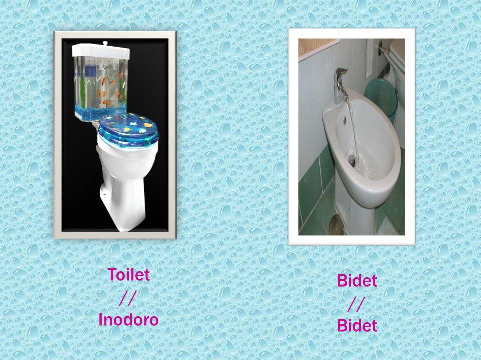 Toilet // Inodoro Bidet // Bidet