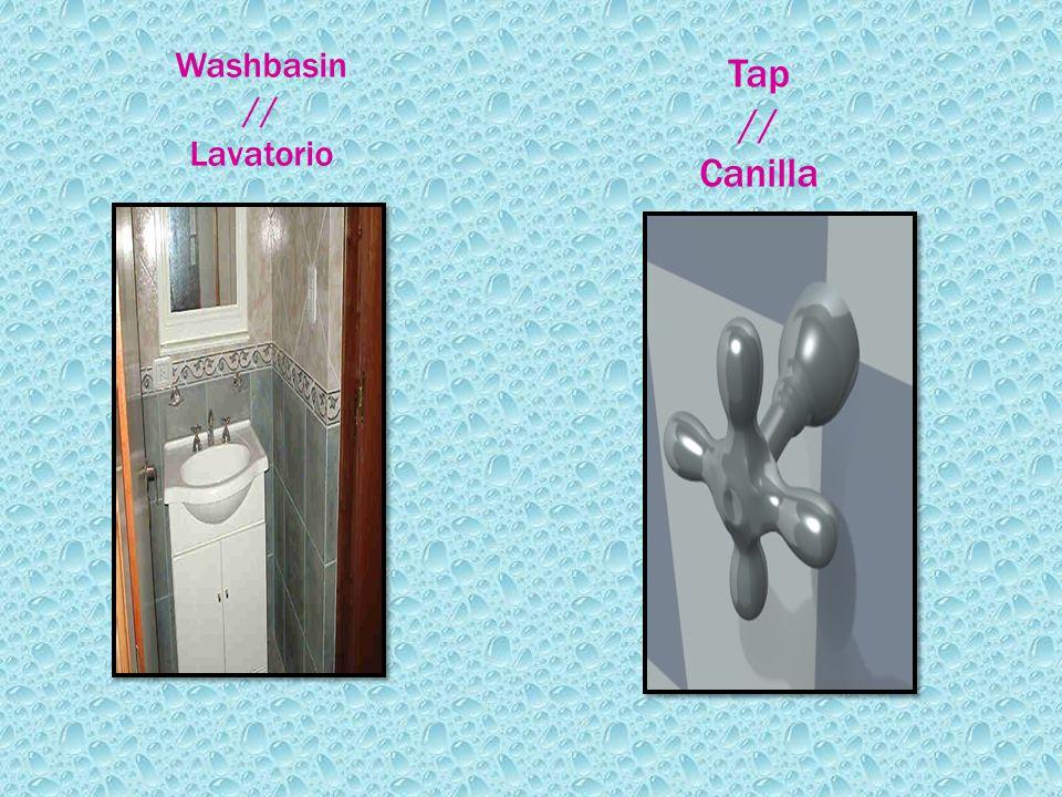 Washbasin // Lavatorio Tap // Canilla