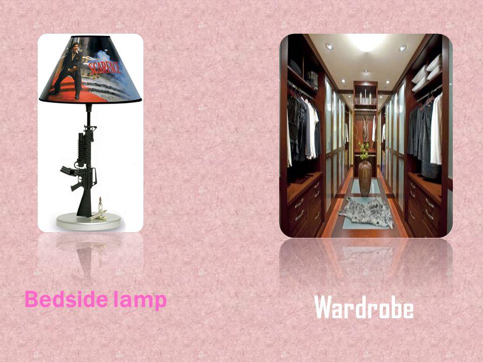 Bedside lamp Wardrobe