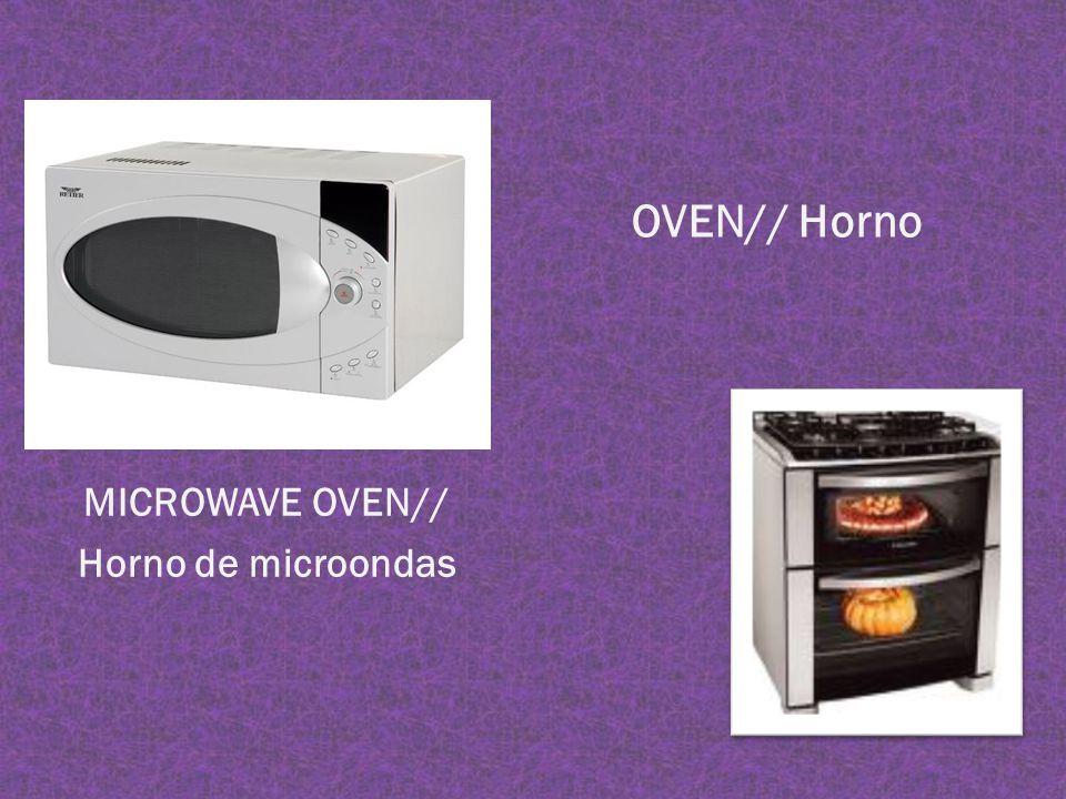 MICROWAVE OVEN// Horno de microondas OVEN// Horno
