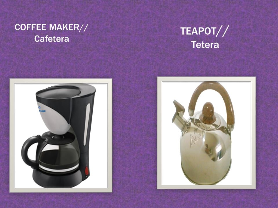 COFFEE MAKER// Cafetera TEAPOT // Tetera