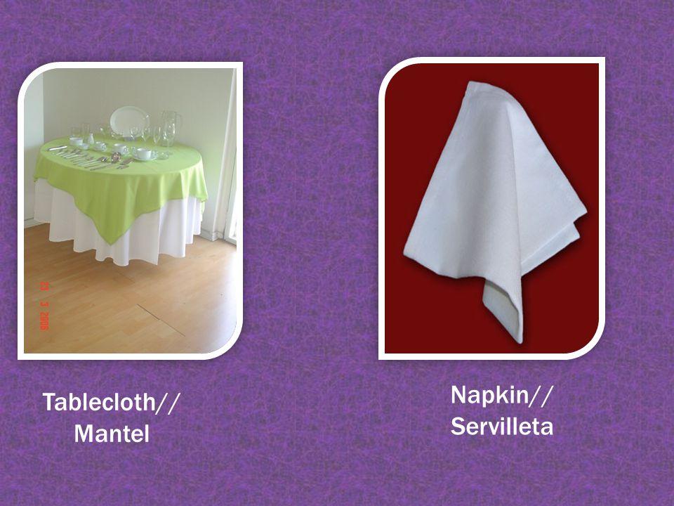 Tablecloth// Mantel Napkin// Servilleta