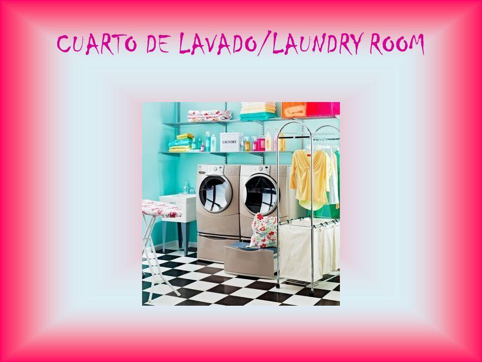 CUARTO DE LAVADO/LAUNDRY ROOM