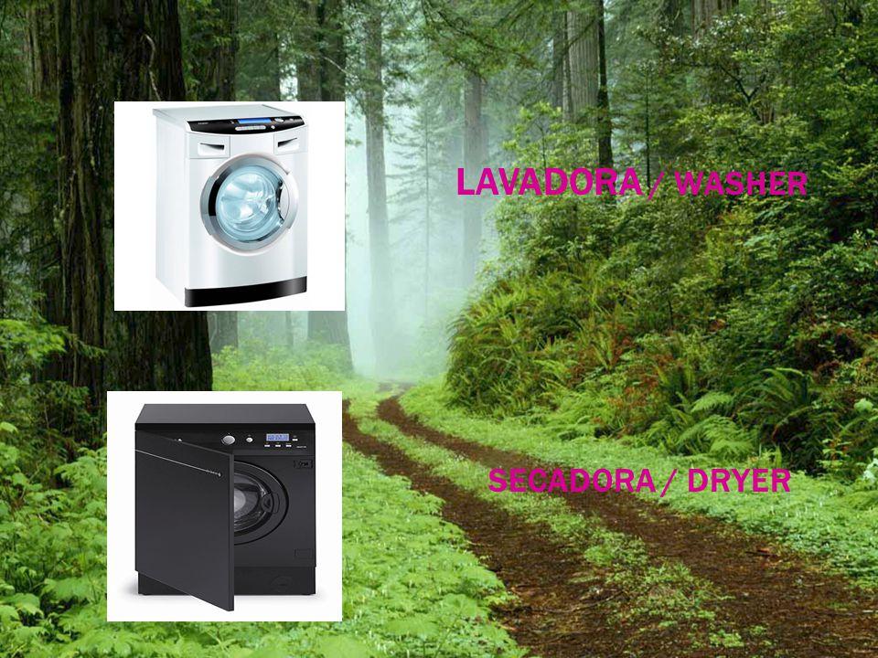 LAVADORA / WASHER SECADORA / DRYER
