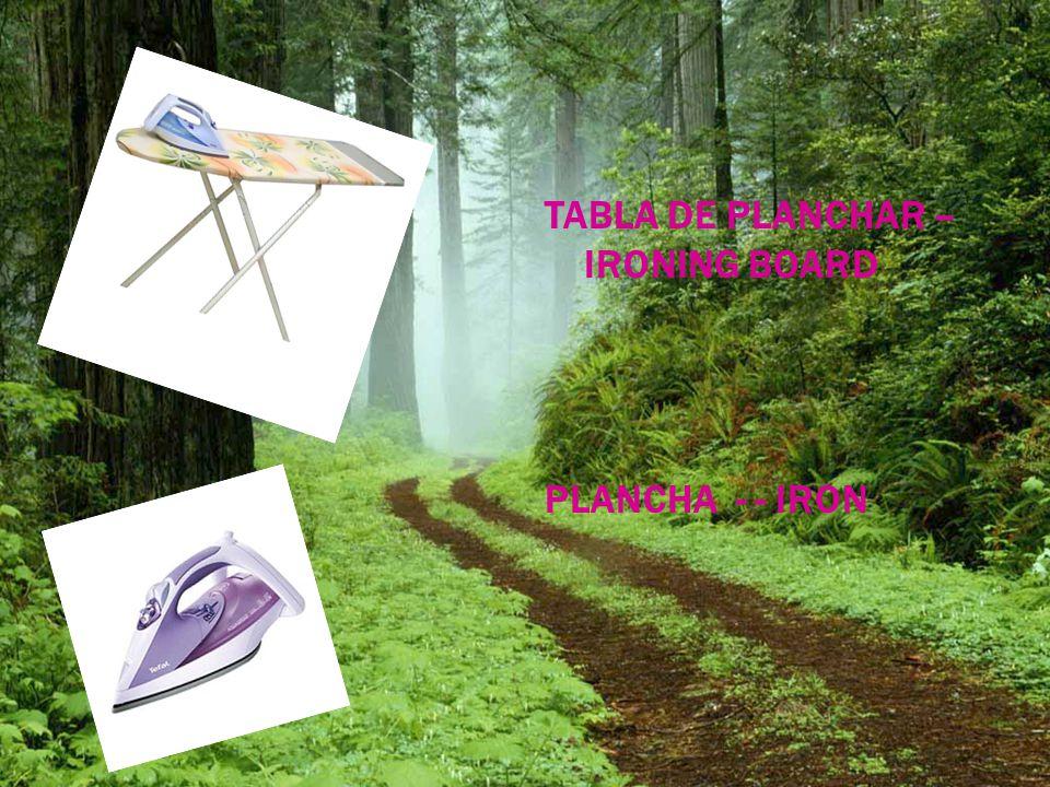 TABLA DE PLANCHAR – IRONING BOARD PLANCHA - - IRON
