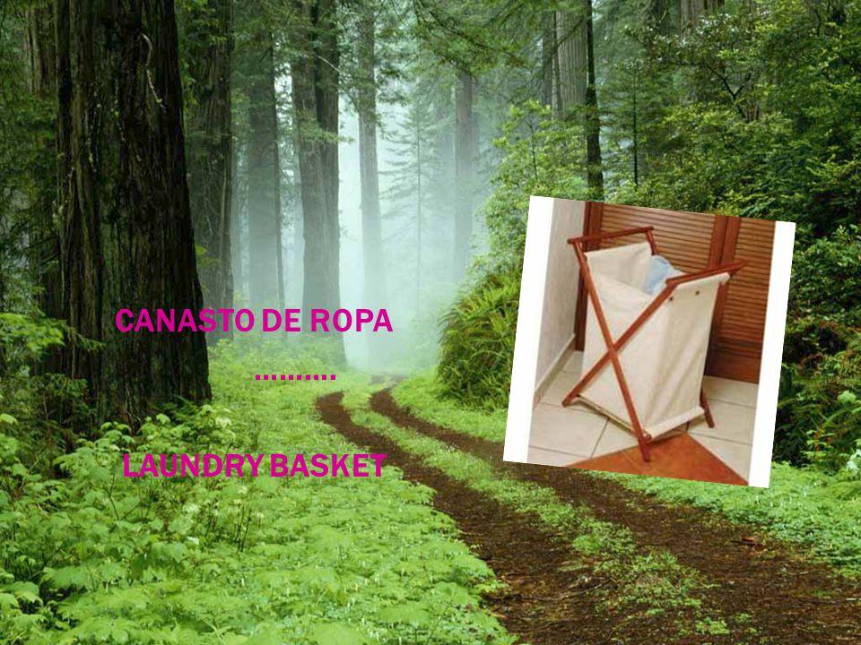 CANASTO DE ROPA ………. LAUNDRY BASKET