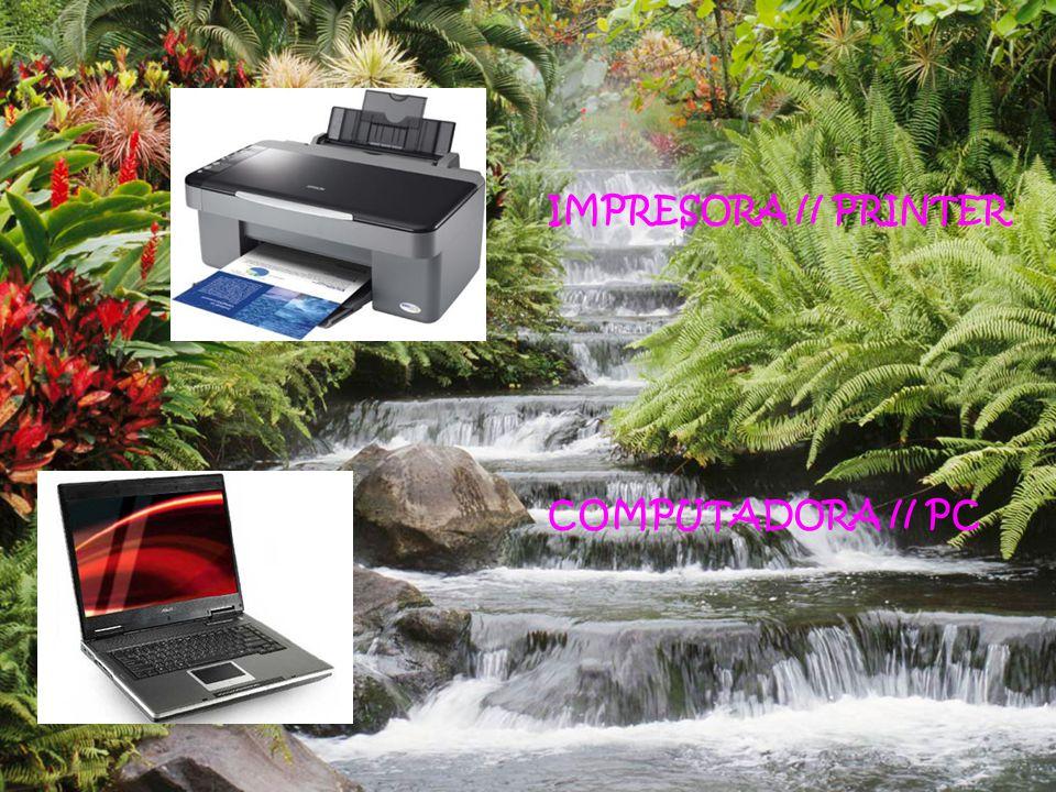 IMPRESORA // PRINTER COMPUTADORA // PC