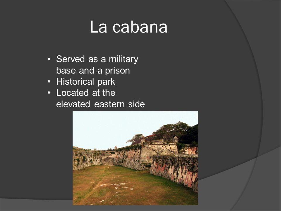El mapa Key: =La Cabana = Havana cathedral = Castillio San Salvador la Punta