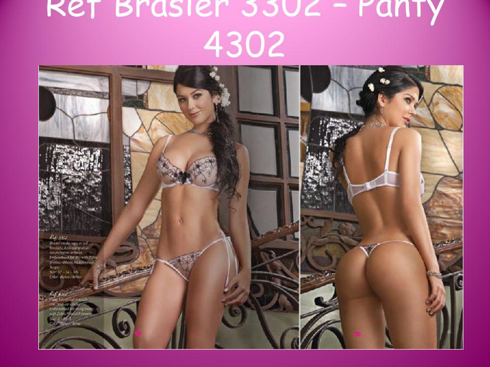 Ref Brasier 3302 – Panty 4302