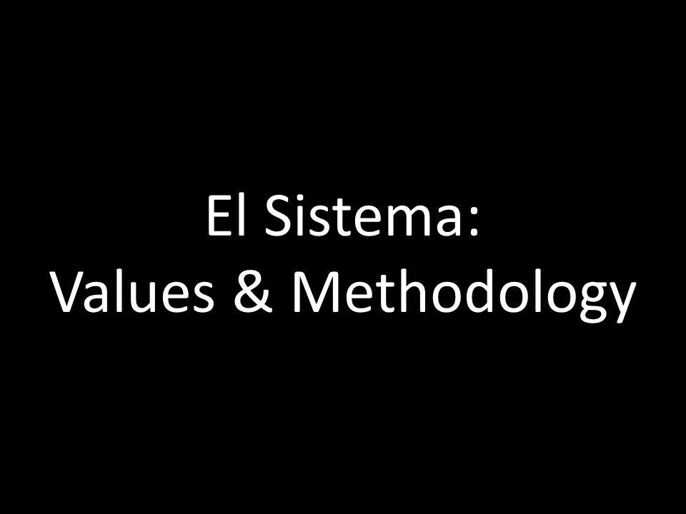 El Sistema: Values & Methodology marshallmarcus.wordpress.com/echo