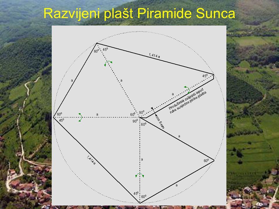 Razvijeni plašt Piramide Sunca