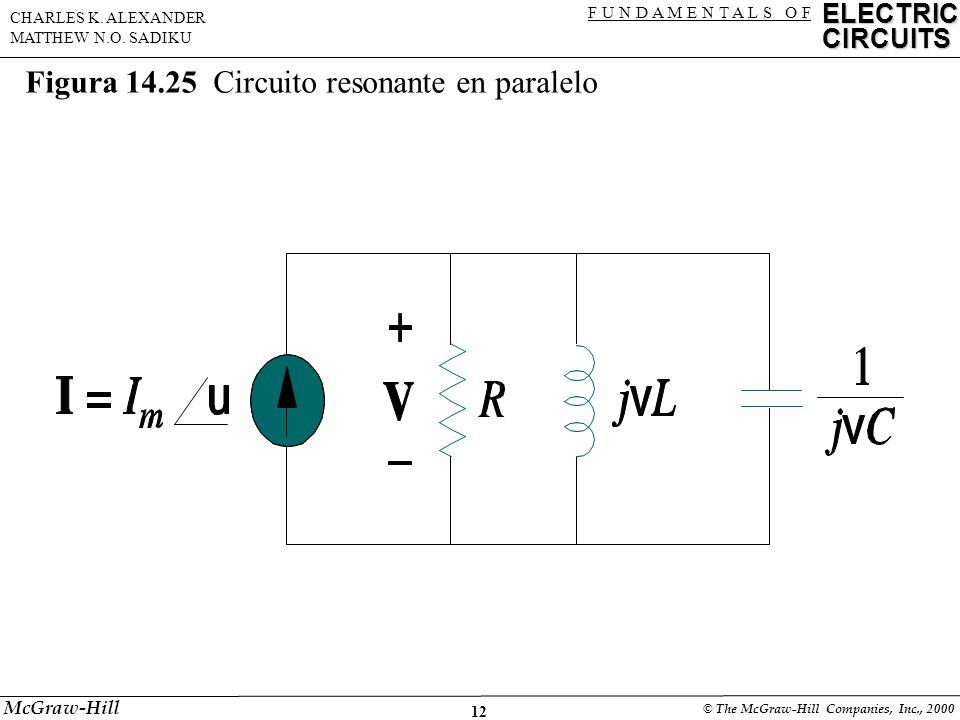 12 ELECTRIC CIRCUITS F U N D A M E N T A L S O F CHARLES K.