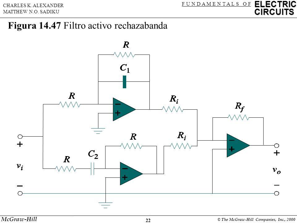 22 ELECTRIC CIRCUITS F U N D A M E N T A L S O F CHARLES K.