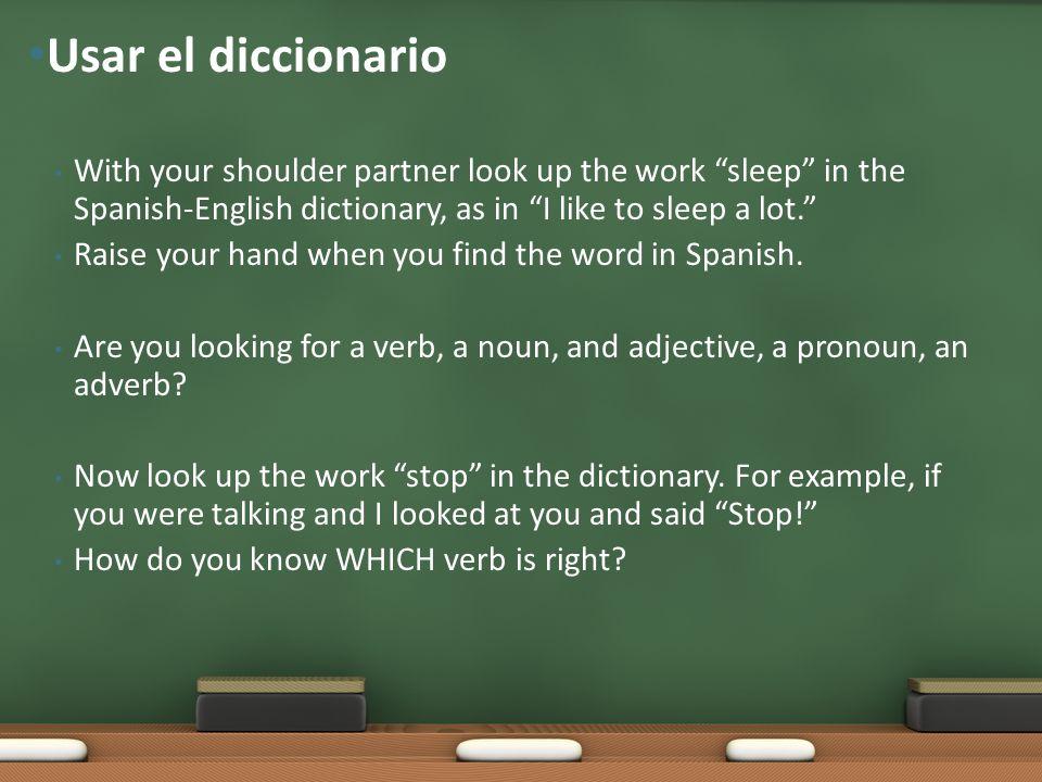Proyecto en la clase de español
