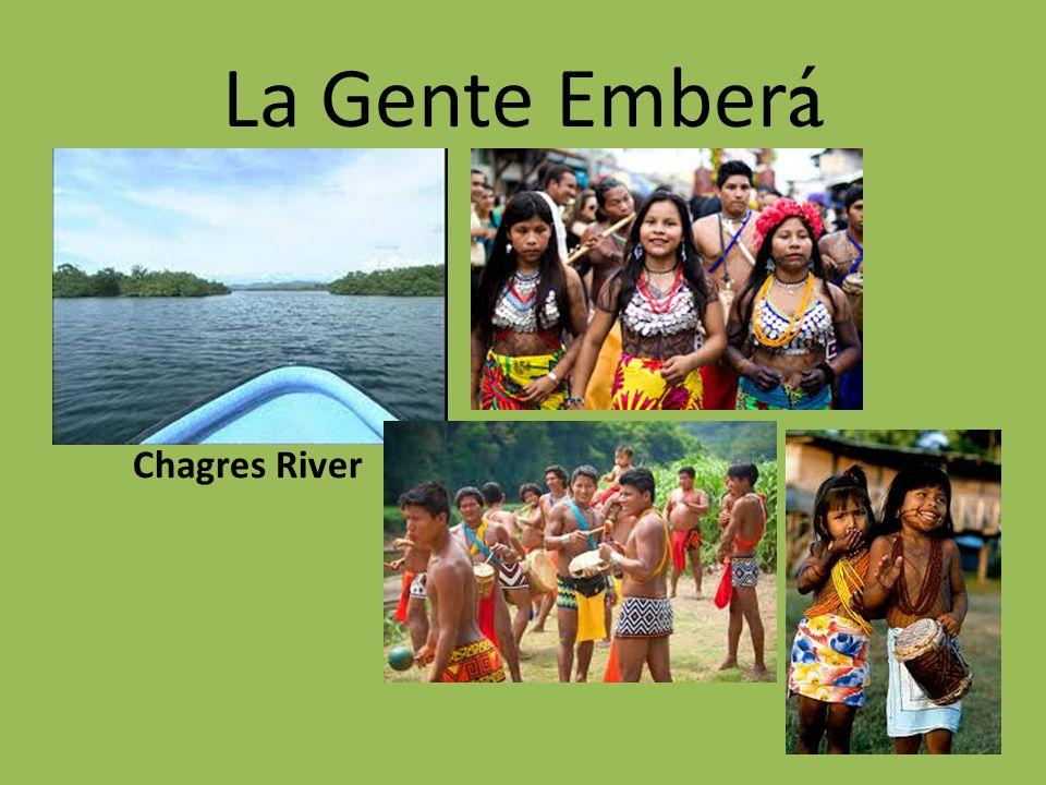 La Gente Ember á Chagres River