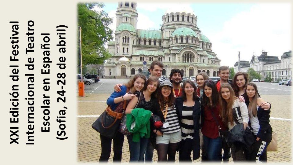 XXI Edición del Festival Internacional de Teatro Escolar en Español (Sofia, 24-28 de abril)