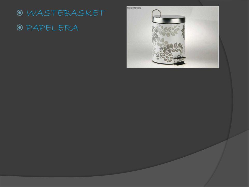  WASTEBASKET  PAPELERA