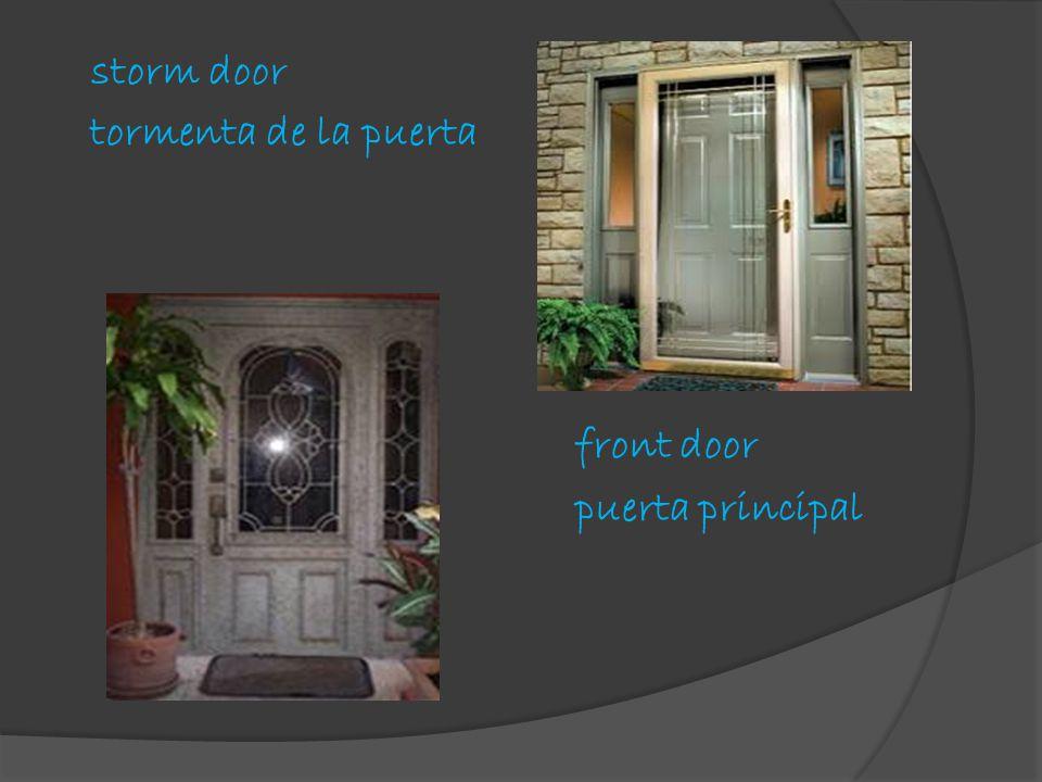 storm door tormenta de la puerta front door puerta principal