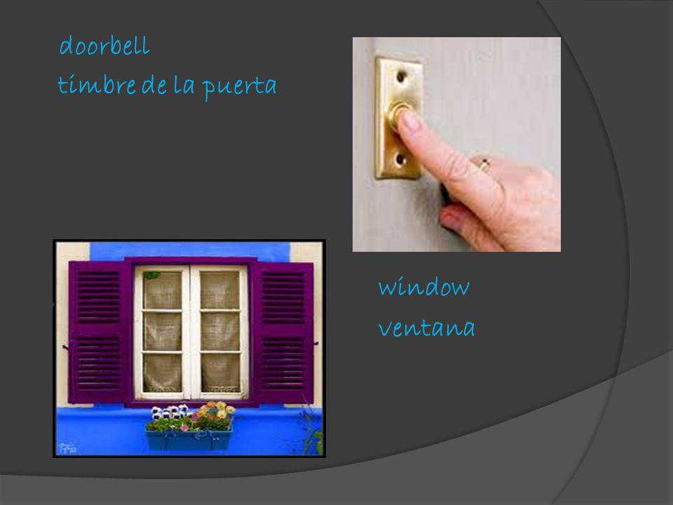 doorbell timbre de la puerta window ventana