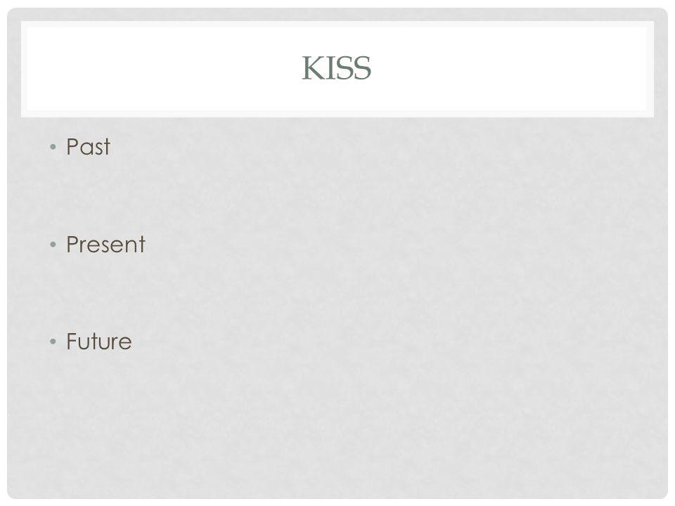 KISS Past Present Future