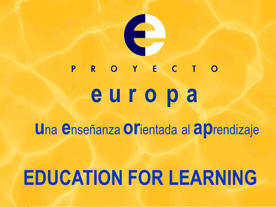 PRECEDENTS 4 The Plan for Educational Innovation (UPV - PIE,1988).