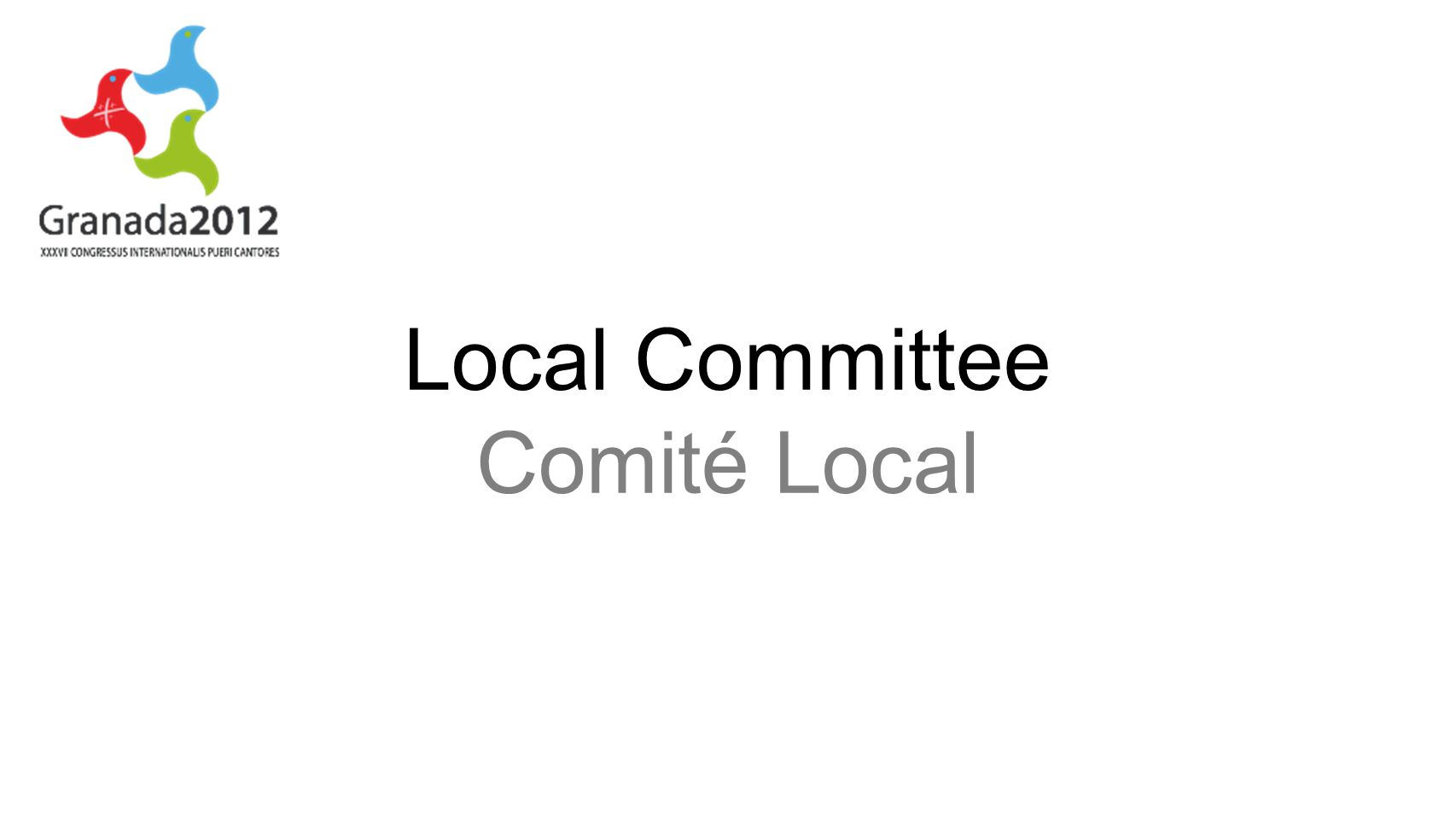 Local Committee Comité Local