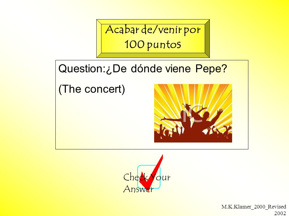 M.K.Klamer_2000_Revised 2002 Question:¿De dónde viene Pepe.