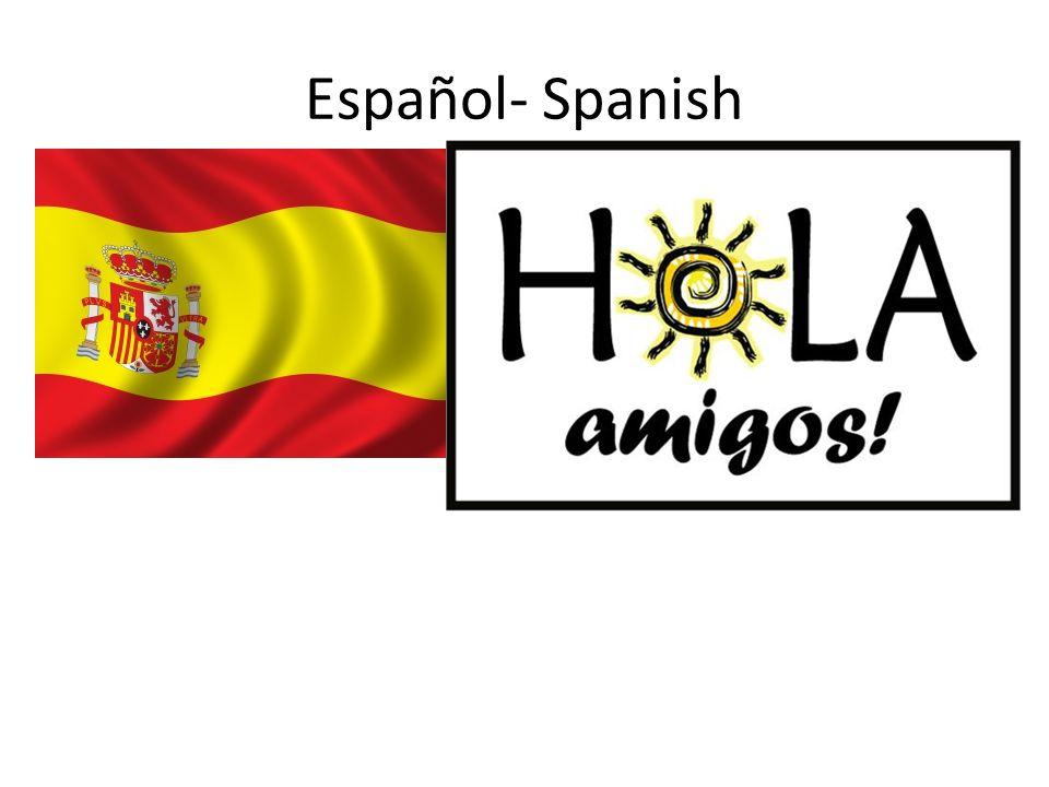 Español- Spanish