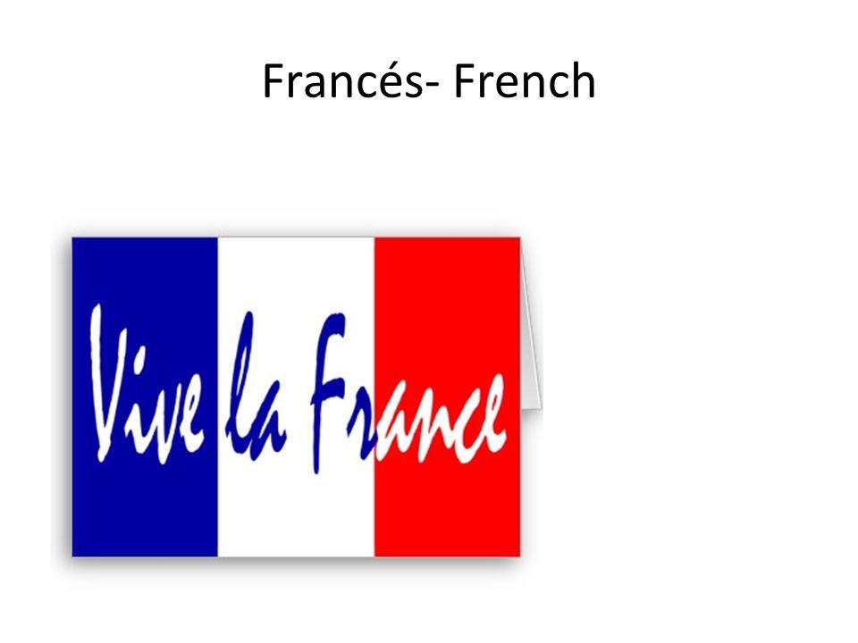 Francés- French