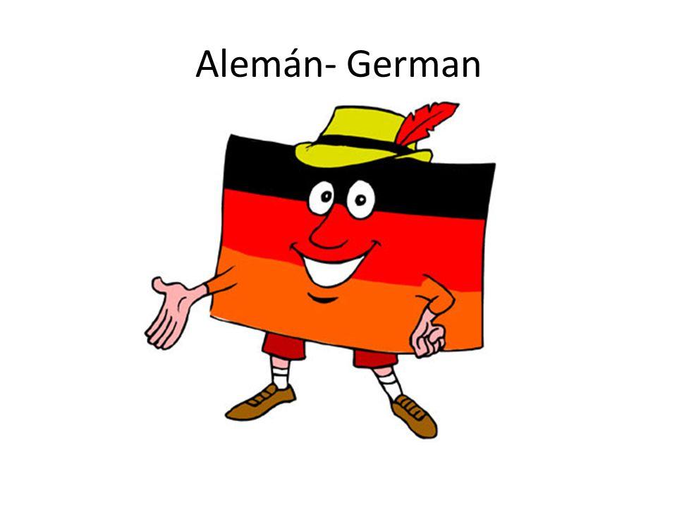 Alemán- German