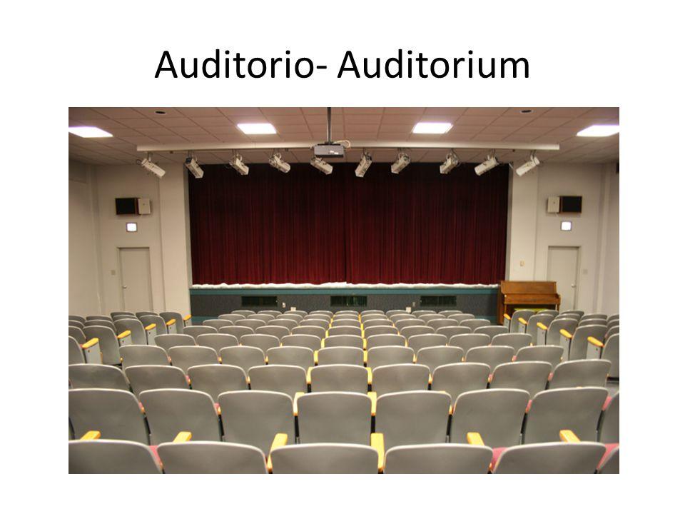 Auditorio- Auditorium