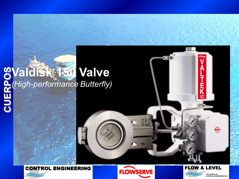 CUERPOS Valdisk 150 Valve (High-performance Butterfly)