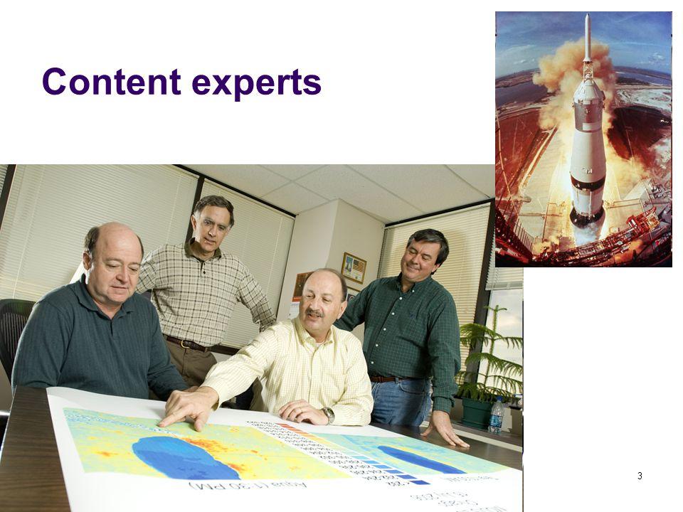 LAWTE Aug 20093 Content experts