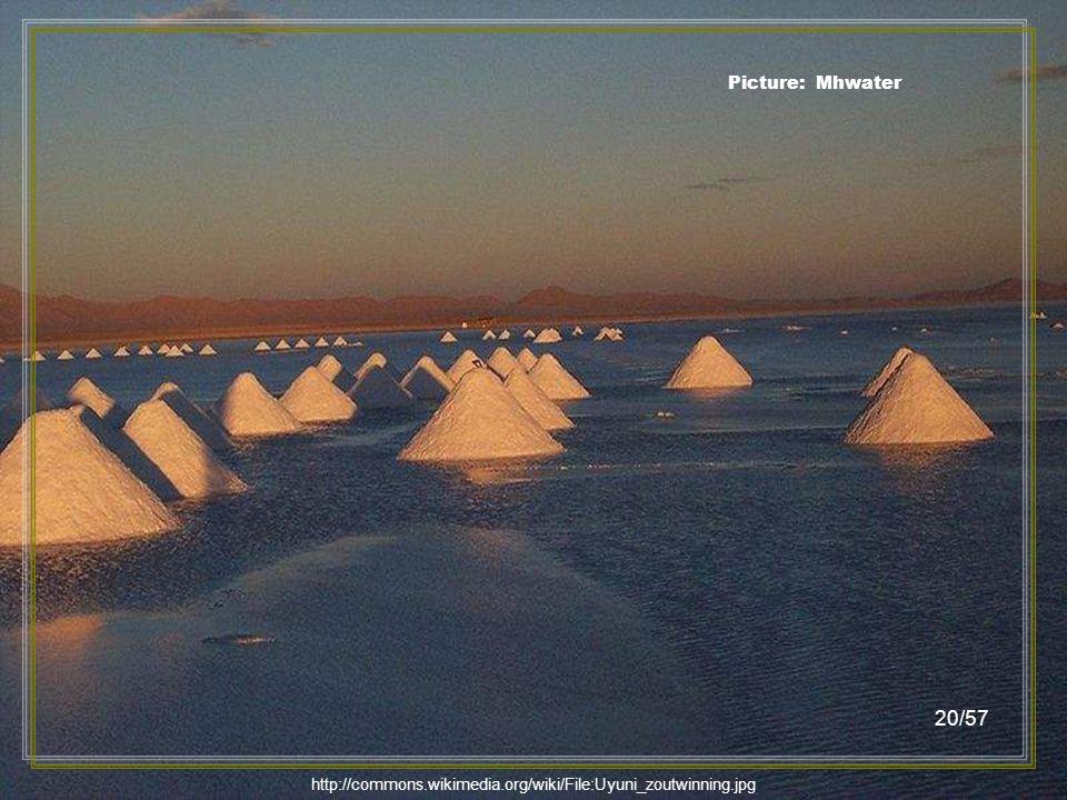 http://commons.wikimedia.org/wiki/File:Waiting_Sunset_Salar_de_Uyuni_Bolivia_Luca_Galuzzi_2006.jpg Picture: Luca Galuzzi 19/57