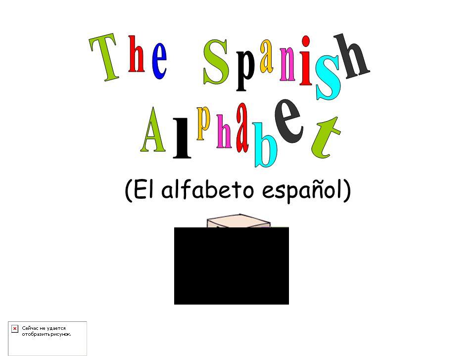 (El alfabeto español)