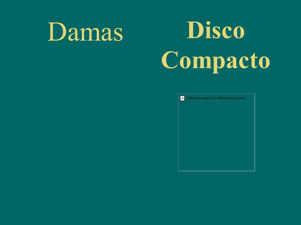 Damas Disco Compacto