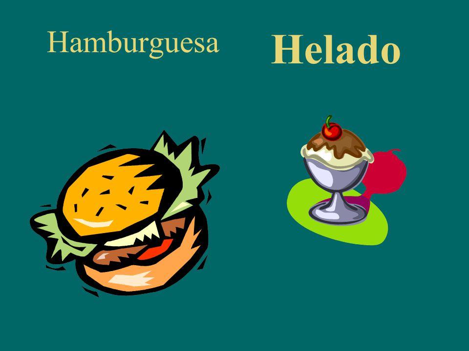 Hamburguesa Helado
