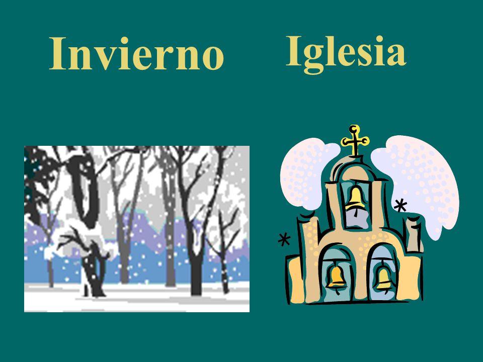 Invierno Iglesia