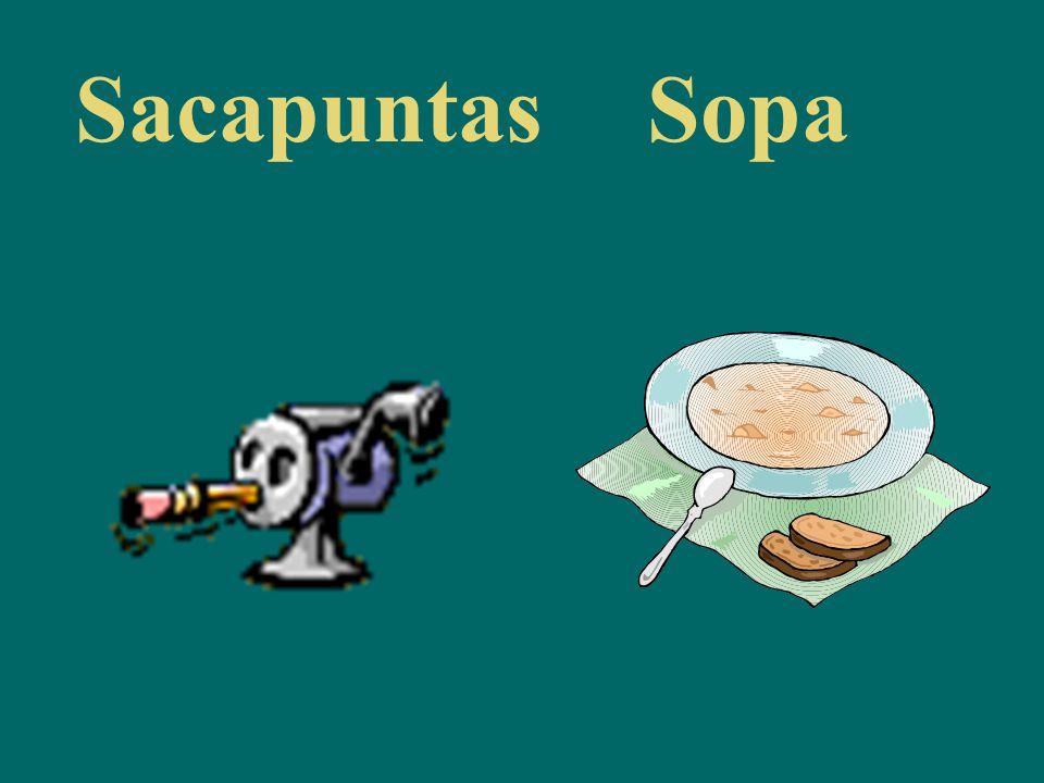 SacapuntasSopa