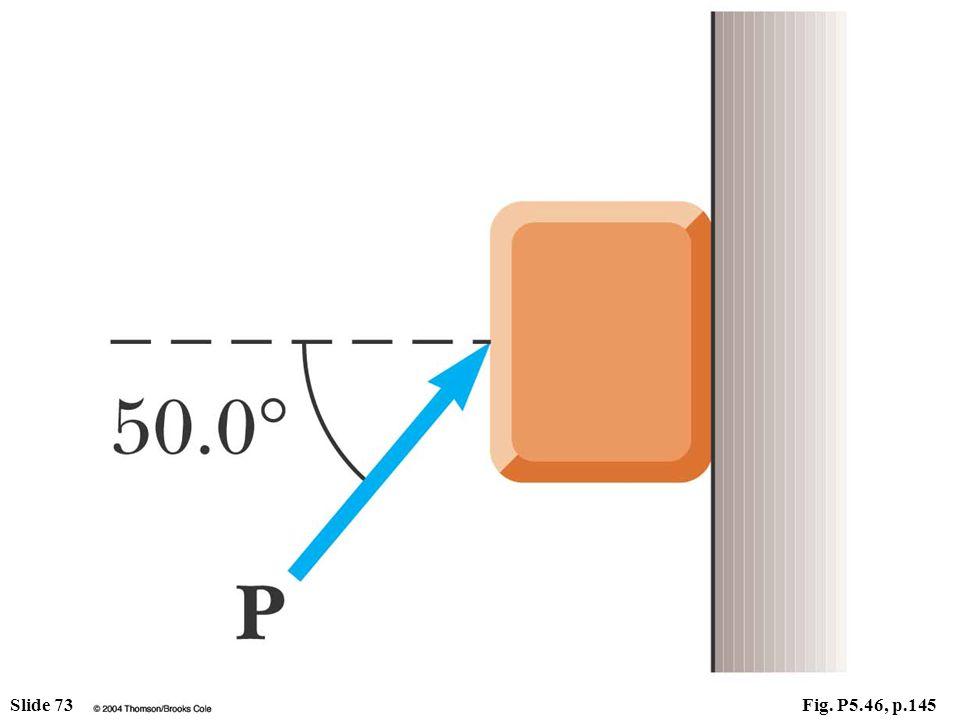 Slide 73Fig. P5.46, p.145