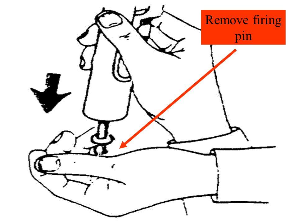 Remove firing pin