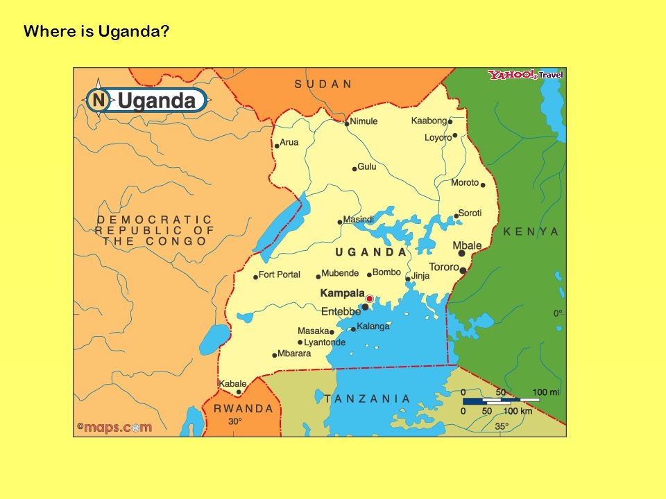 Where Is Uganda Statistics About Uganda Population Religion - Where is uganda