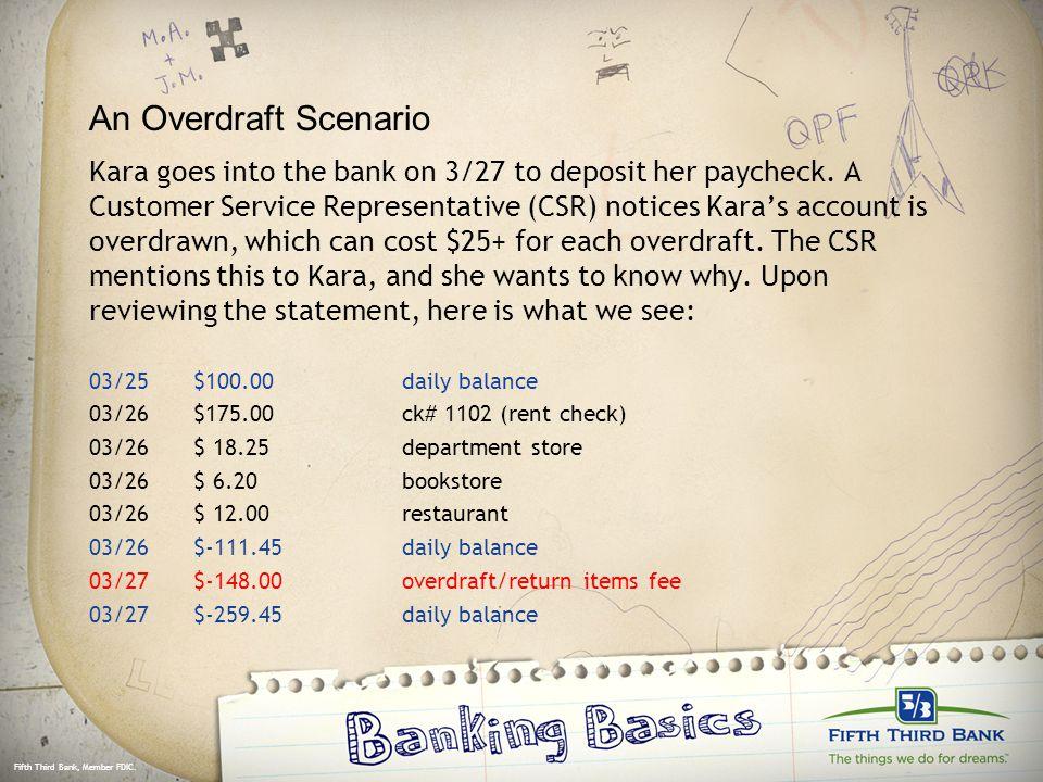 fifth third bank customer service